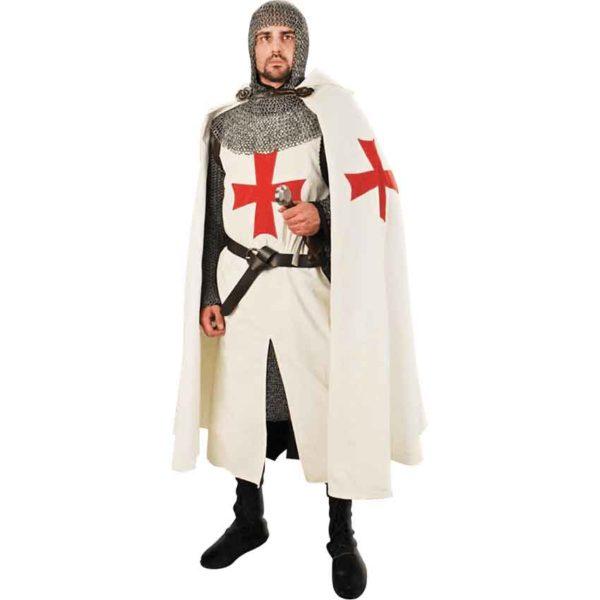 Templar Knight Hooded Cape