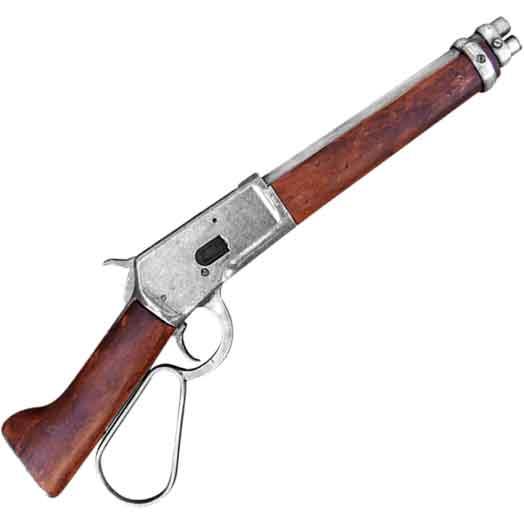 Grey 1892 Shortened Lever Action Rifle