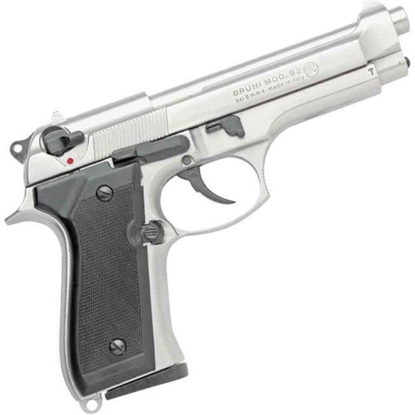 Semi-Auto Blank Firing Nickel M92 Pistol