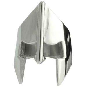 Stainless Steel Spartan Helmet Ring