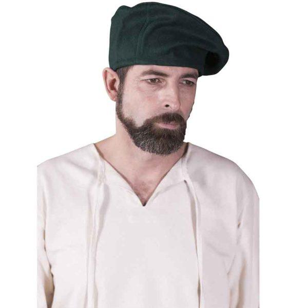 Medieval Wool Beret