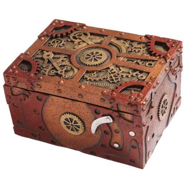 Clockwork Steampunk Storage Box