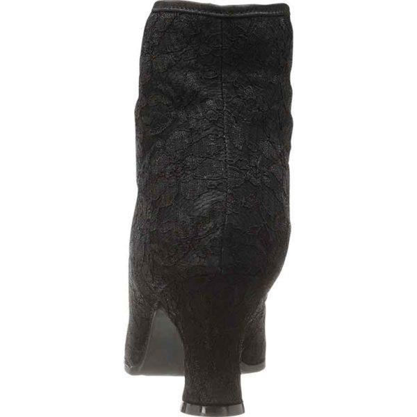 Elizabethan Lace Ankle Boots