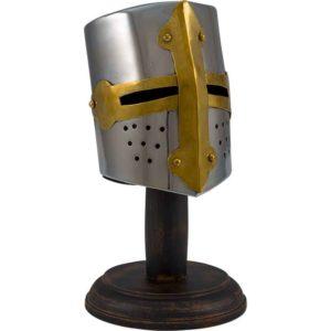 Mini Medieval Tournament Helmet