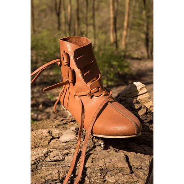 Thor Leather Viking Shoes