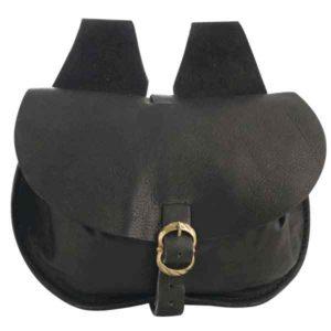 Medium Leather Flap Bag