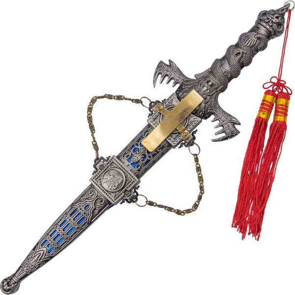 Lion Pride Silver Dragon Dagger