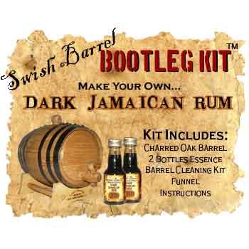 Dark Jamaican Rum Bootleg Kit - 5 Liter