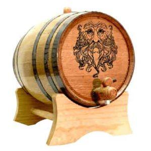 Green Man 5 Liter Oak Barrel