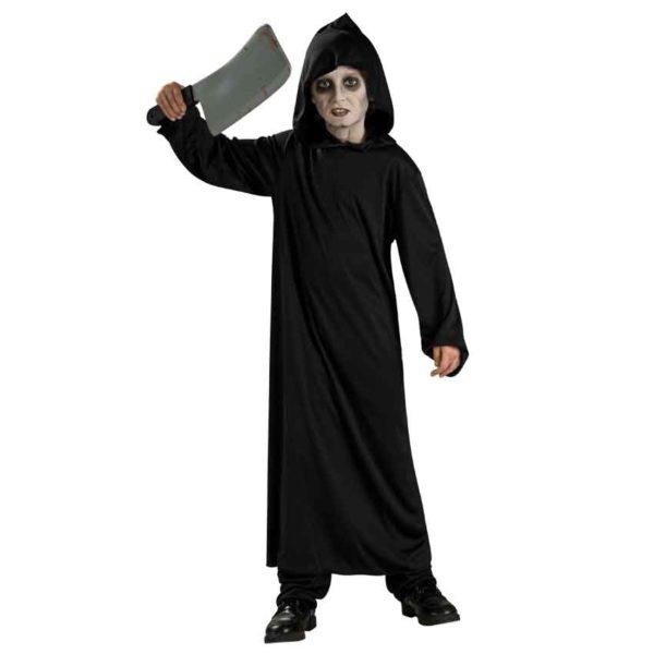 Childs Black Costume Robe