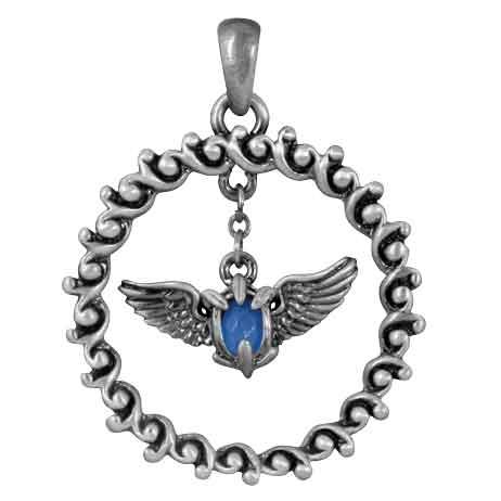 Winged Gem Necklace