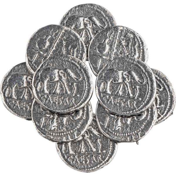 Denarius Of Caesar Replica Coins