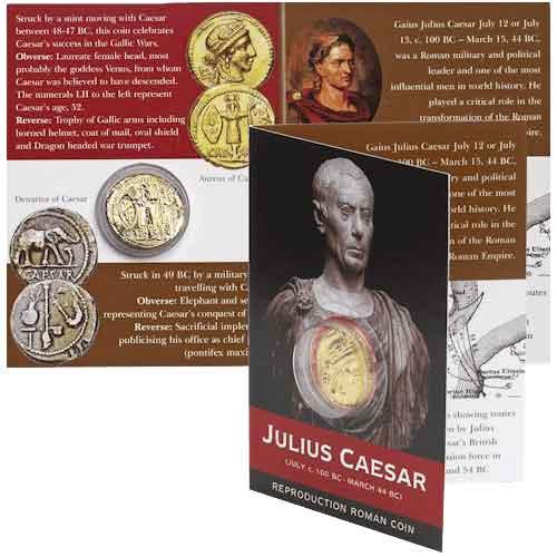 Aureus Of Caesar Replica Coin Pack