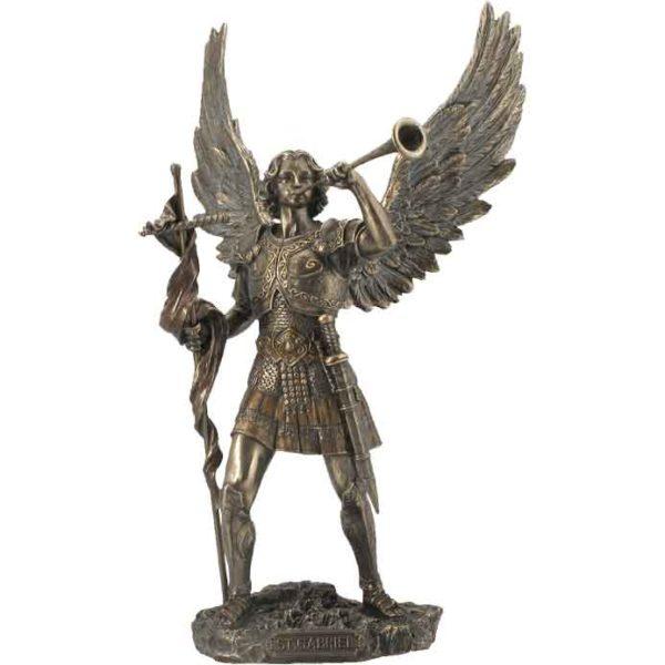 Gabriel with Trumpet Statue