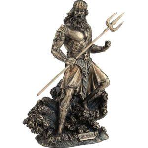 Bronze Poseidon Statue