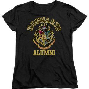 Hogwarts Alumni Womens T-Shirt