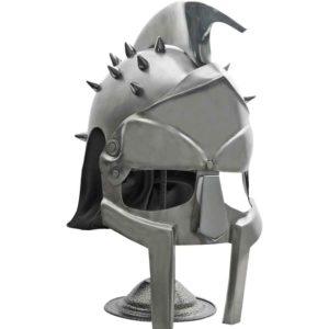 Silver Gladiators Helmet