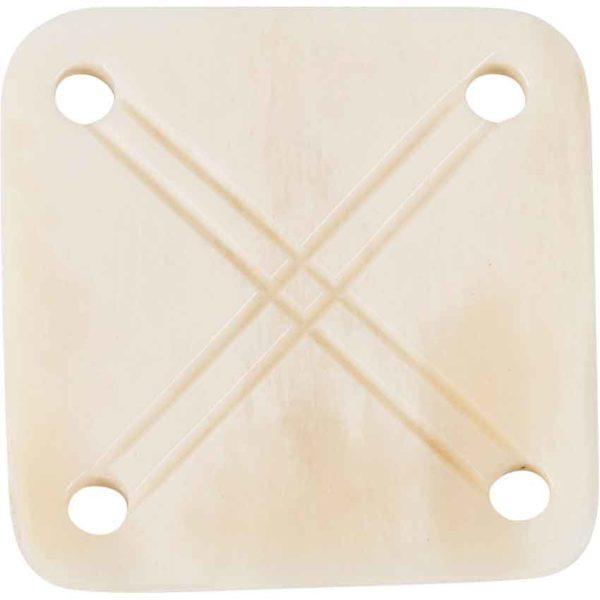 White Horn Historical Weaving Card