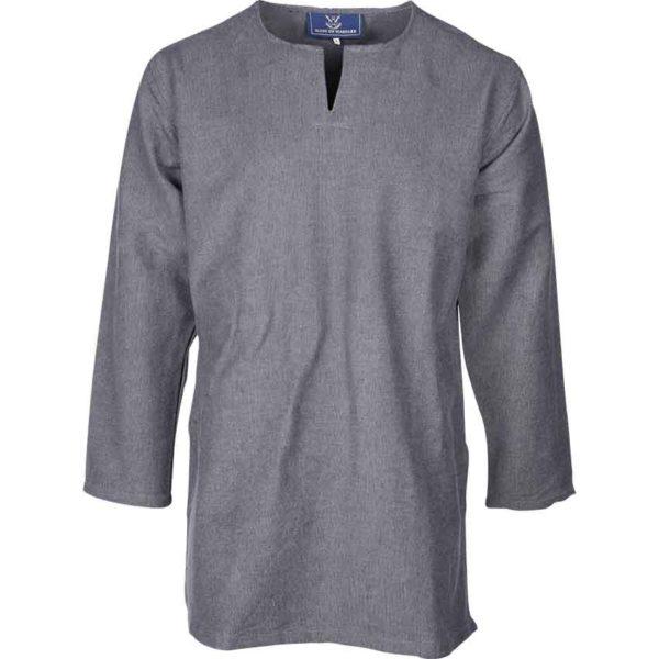 Long Sleeve Viking Tunic - Grey