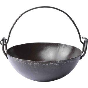 Round Medieval Cooking Pan