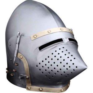 Churburg Style Bascinet Helmet