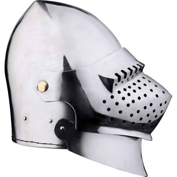 Great French Bascinet Helmet