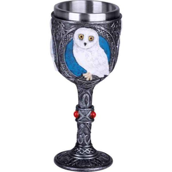 Snowy Owl Goblet