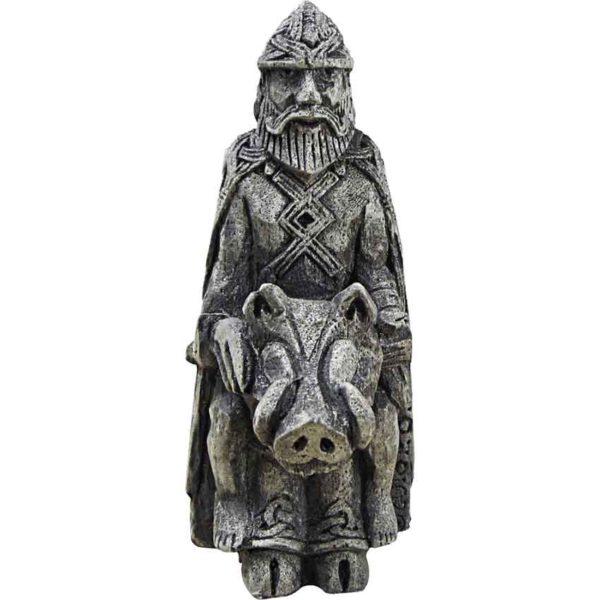 Freyr God of Harvest Statue