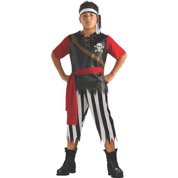 Kids Pirate King Costume