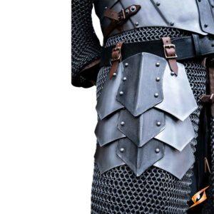 Dreki Belt Shield Tassets - Matte Polish/Epic Dark